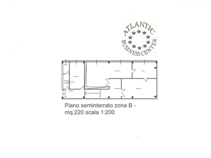 Magazzino mq 220 zona via mecenate linate milano for Piano del magazzino