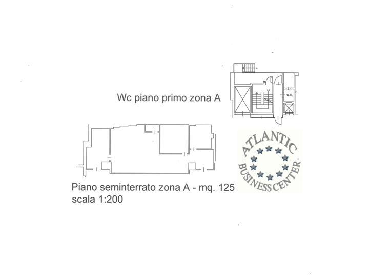 Magazzino mq 125 piano seminterrato atlantic business for Piano del magazzino