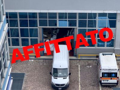 Capannone Magazzino in affitto a Milano via Fantoli zona Mecenate - 415 mq - Atlantic Business Center