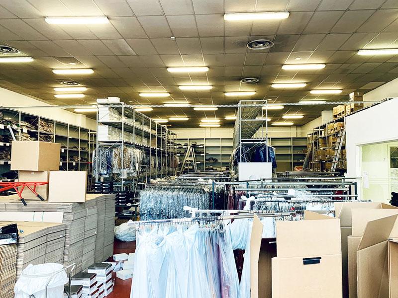 Interno magazzino in affitto a Milano via Fantoli zona Mecenate - 415 mq - Atlantic Business Center