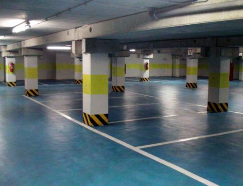 Indoor parking lots