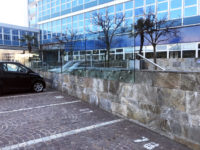 Outdoor parking spaces to rent in the courtyard inside the Atlantic Business Center - Milan