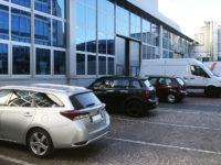 Posti auto scoperti in affitto, in cortile lato capannoni, all'interno di Atlantic Business Center - Milano via Fantoli 7