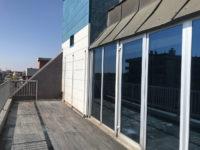 Terrazzo panoramico lato Via Fantoli ufficio direzionale 525 mq