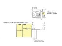 Floorplan - Warehouse for rent in Milan - 100 sqm (1076 sqft) - Atlantic Business Center