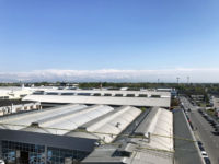 View from the terrace to Linate Airport and beyond