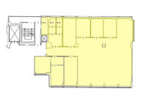 Floorplan - Office for rent in Milan - 305 mq (3283 sqft) - via Fantoli / Mecenate - close to East ring road and Linate Airport