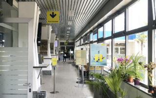 Poste Italiane - postal office MILANO 62 - inside