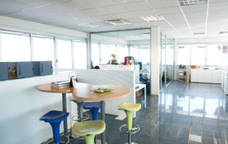 Spazio Company - entrance office