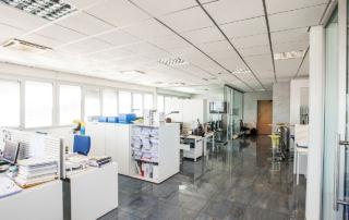 Spazio Company - open space office