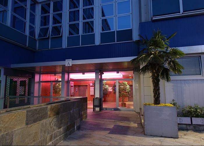 tour online Atlantic Business Center Milano - atrio