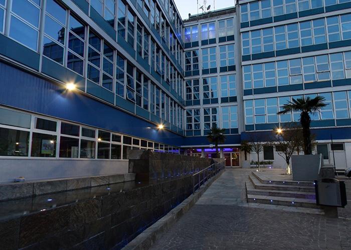 tour online Atlantic Business Center Milano - cortile