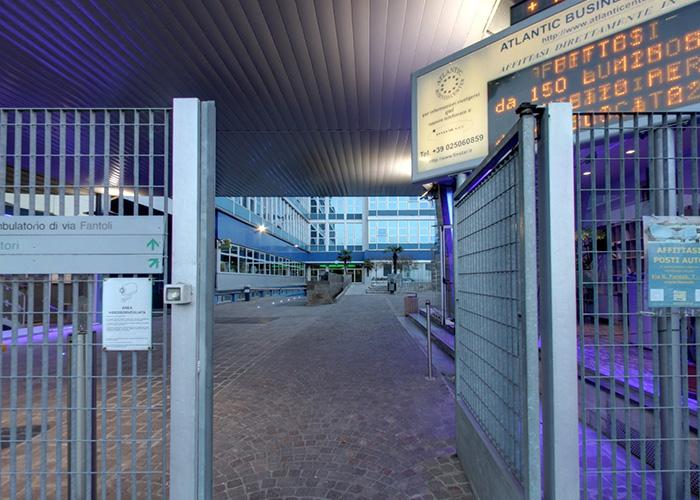 tour online Atlantic Business Center Milano - entrata