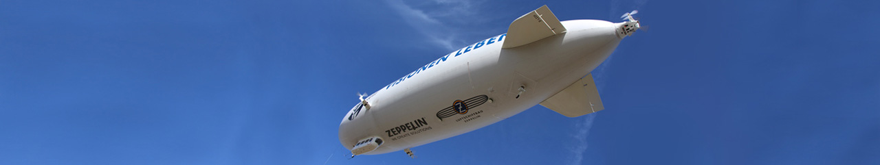 Modern Zeppelin NT airships