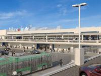 Rendering del nuovo frontale di Linate