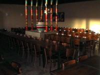 Tavoli sala ristorante - bar ristorante pizzeria 880 mq in Atlantic Business Center