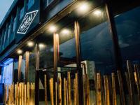 Ingresso su via Fantoli - bar ristorante pizzeria discoteca 880 mq in Atlantic Business Center