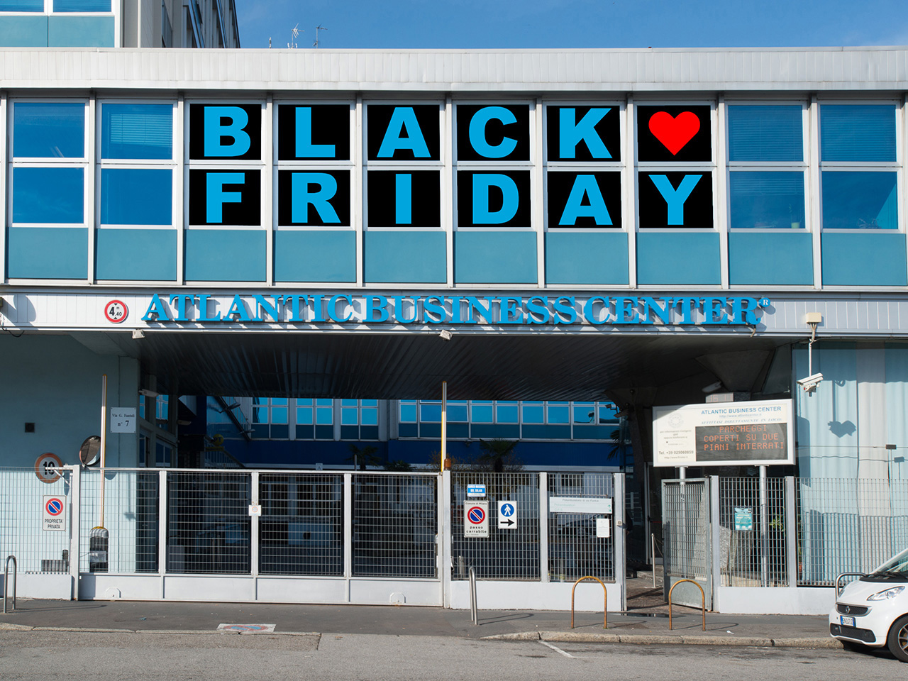 Black Friday 2019 - 20% off rent for one year