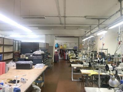 magazzino 315 mq seminterrato Atlantic Business Center Milano