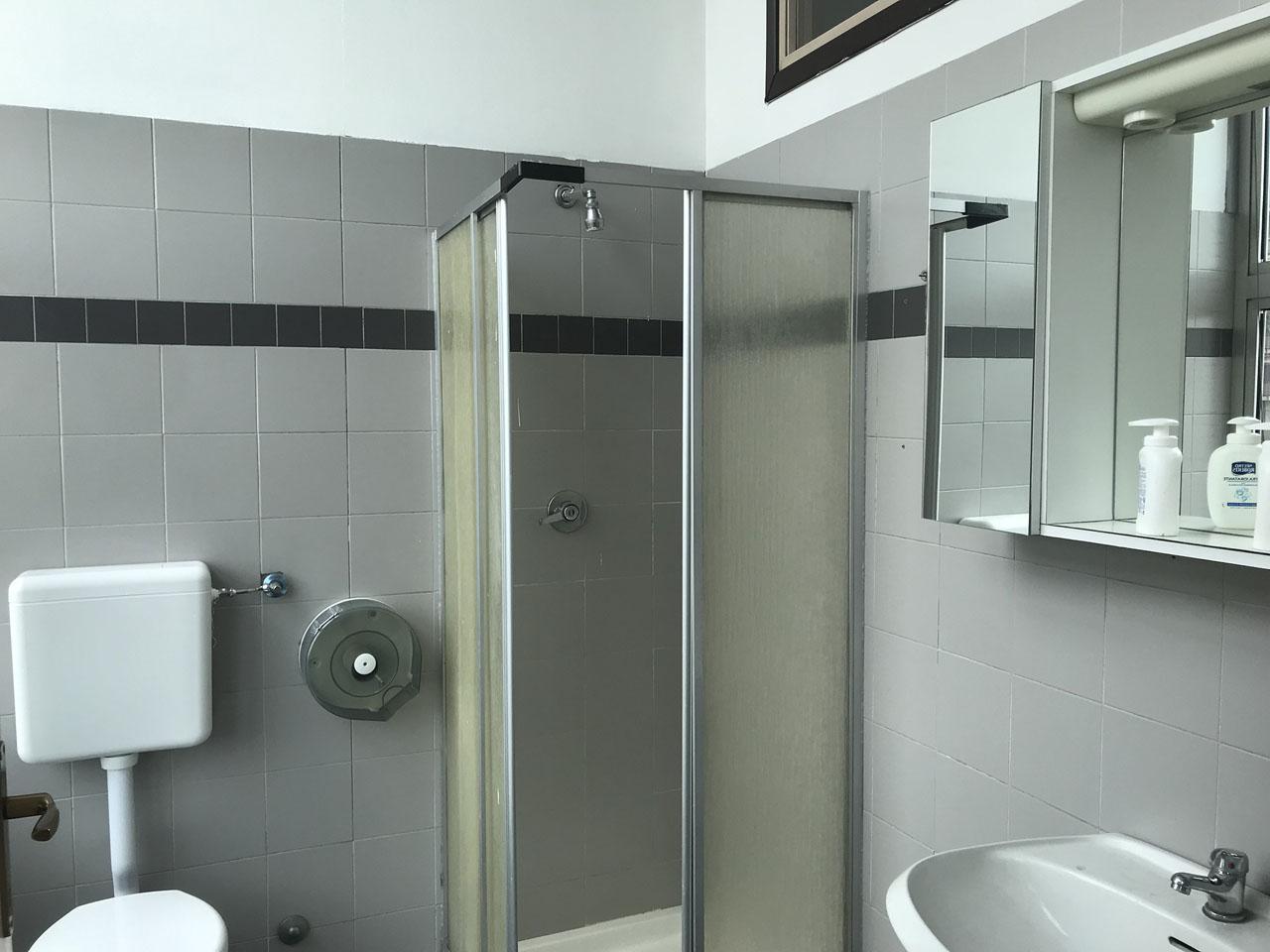 ufficio 430 mq secondo piano - Atlantic Business Center - bagno con doccia