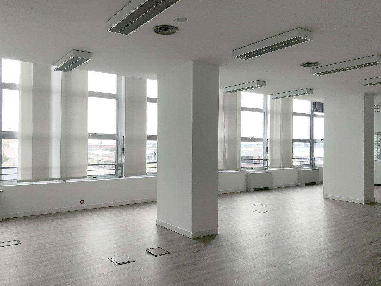 ufficio 430 mq secondo piano - Atlantic Business Center - grande open space