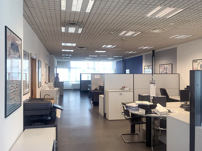 office 523 sq m - Atlantic Business Center - fourth floor
