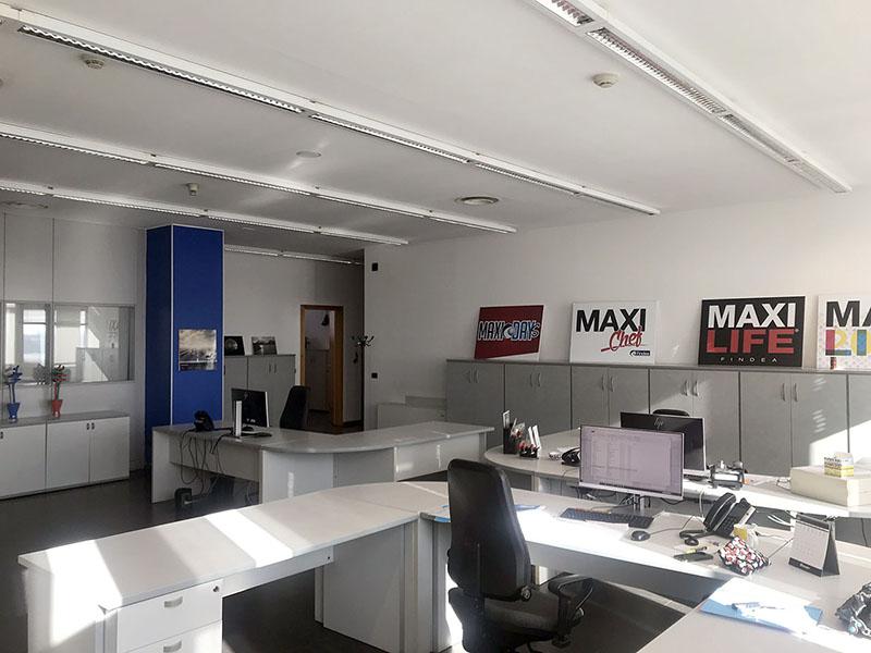 ufficio 300 mq in Atlantic Business Center - quarto piano