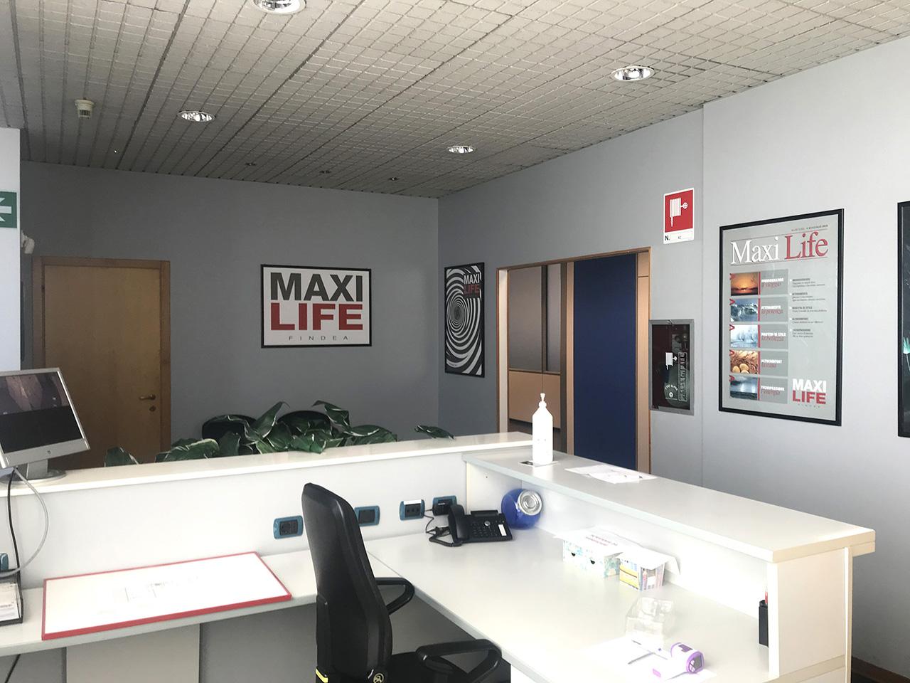ufficio 677 mq - Atlantic Business Center - quarto piano - reception