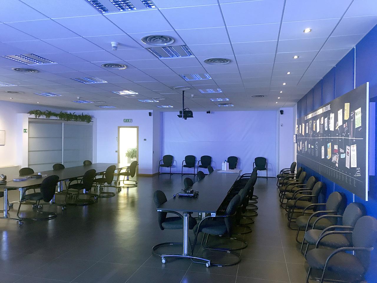 ufficio 677 mq - Atlantic Business Center - quarto piano - sala conferenze
