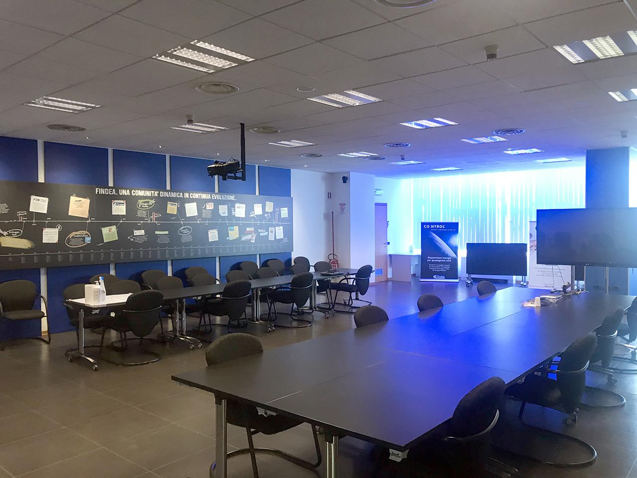 ufficio 677 mq - Atlantic Business Center - quarto piano - sala conferenzeroom