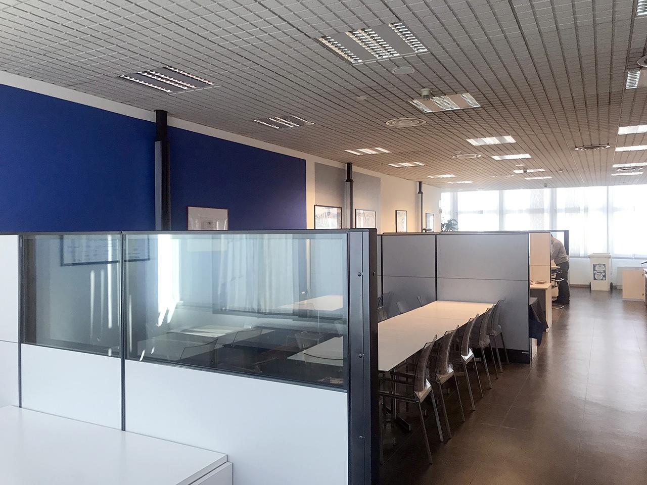 ufficio 677 mq - Atlantic Business Center - quarto piano - open space